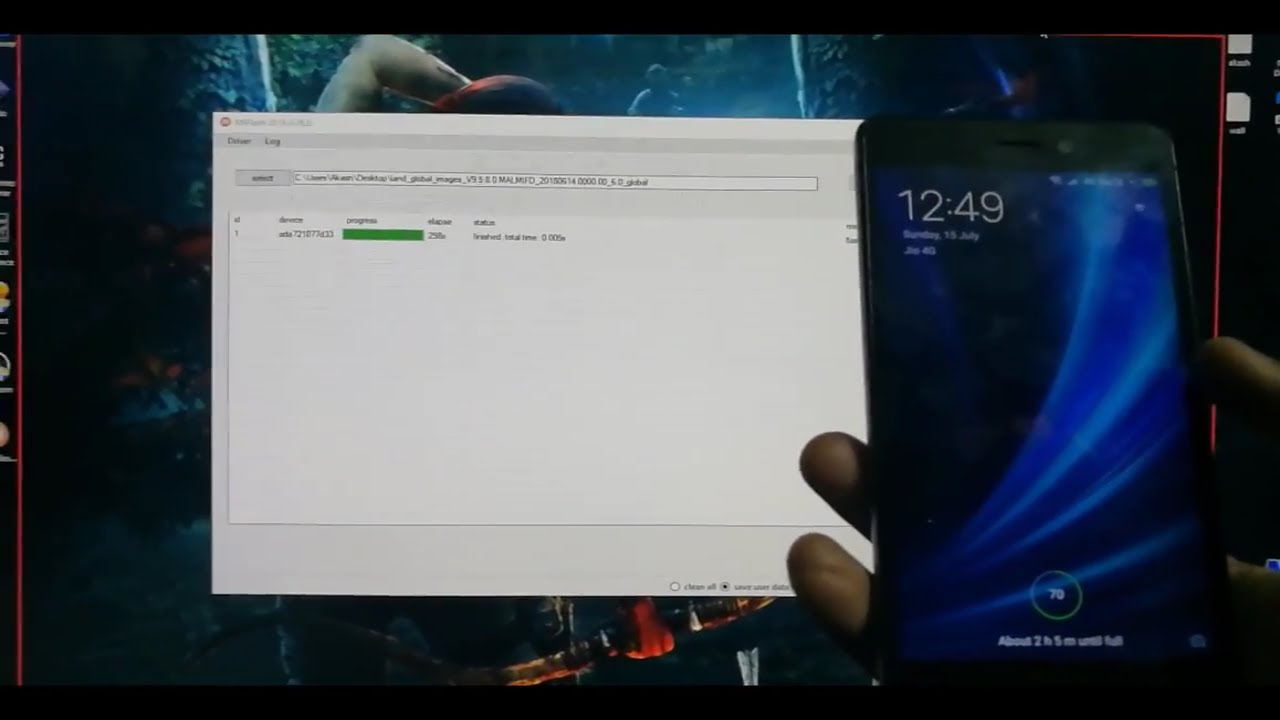 How To Flash Xiaomi Firmware Using Xiaomi Flash Tool