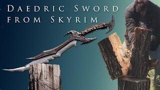 Даэдрический меч из Скайрима (TES V:Skyrim - Daedric Sword) своими руками