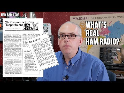 What's Real Amateur Radio? - Ham Radio Q&A