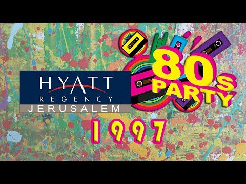Hyatt Jerusalem party 80th  1997