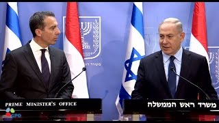 PM Netanyahu Meets Austrian Chancellor Christian Kern