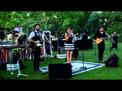 The Bang Band - Kiss me quick || Casamiento Luli & Edu, 22/11/14