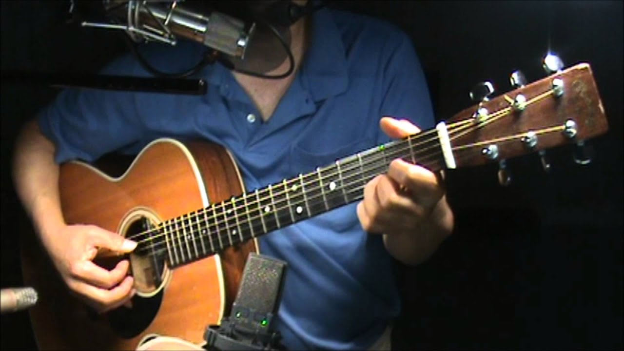 Sweet Baby James James Taylor Guitar Chords Finger Style Cover