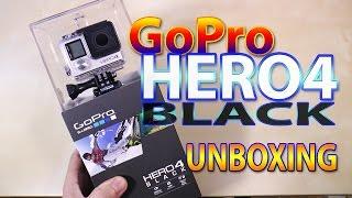 GoPro HERO4 Black - Unboxing ((PT))