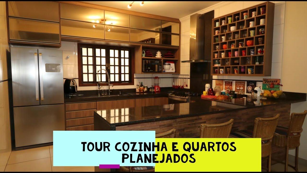 Prieto Móveis - Tour cozinha e quartos planejados