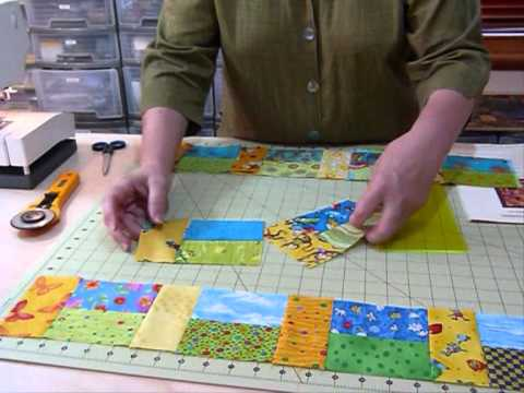 How To Make A Rectangles Block Using 40 Squares Quilting Tips Inspiration Quilt Patterns With 5 Inch Squares