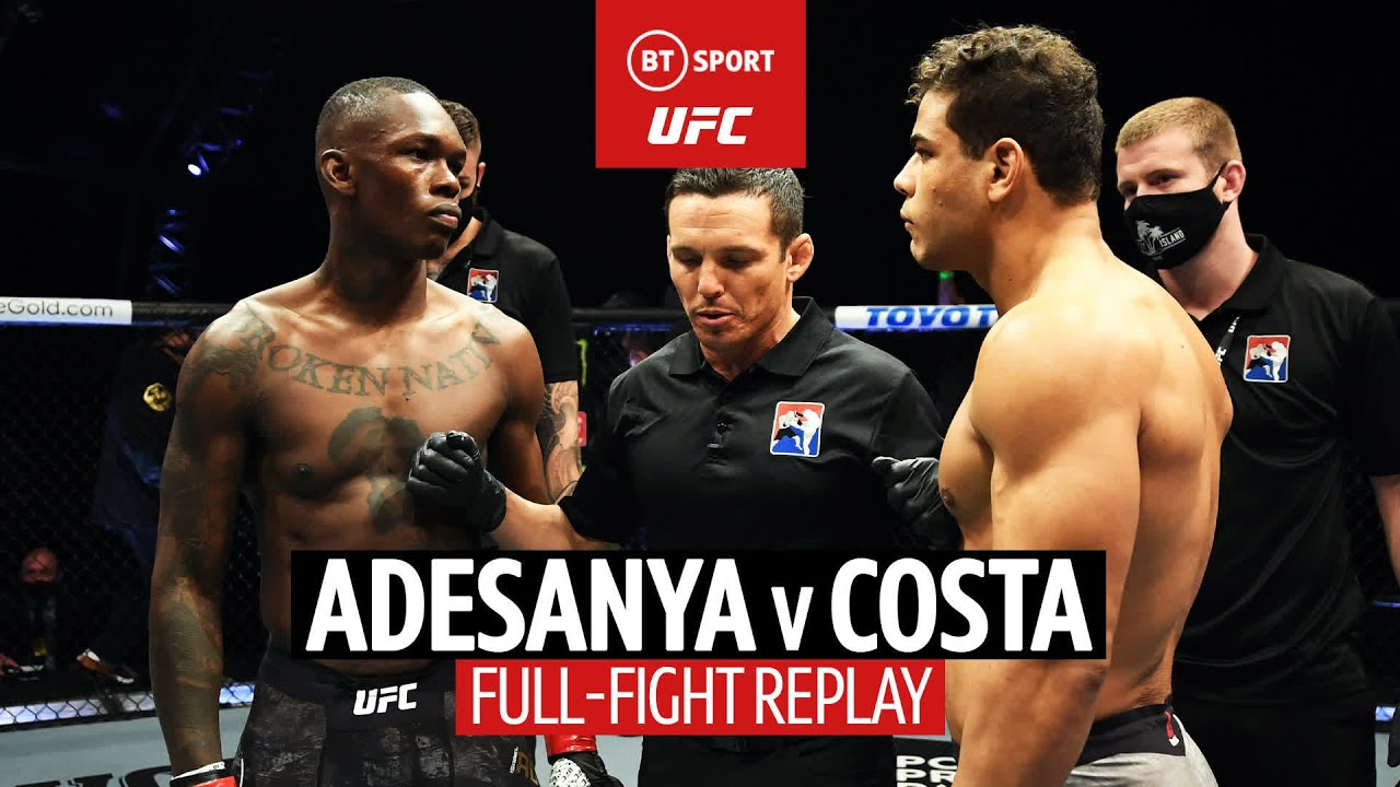 Israel Adesanya v Paulo Costa | UFC 253 Full-Fight Replay