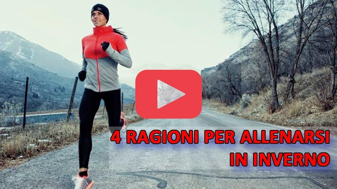 4 ragioni per allenarsi in inverno!