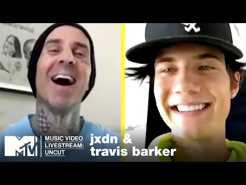 Travis Barker & jxdn's Exclusive Interview on New Music, Collabs & More With 'MTV'