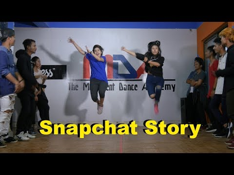 Snapchat Story | Bilal Saeed ft. Romee Khan | The movement dance academy।Choreography By: Mann Thapa
