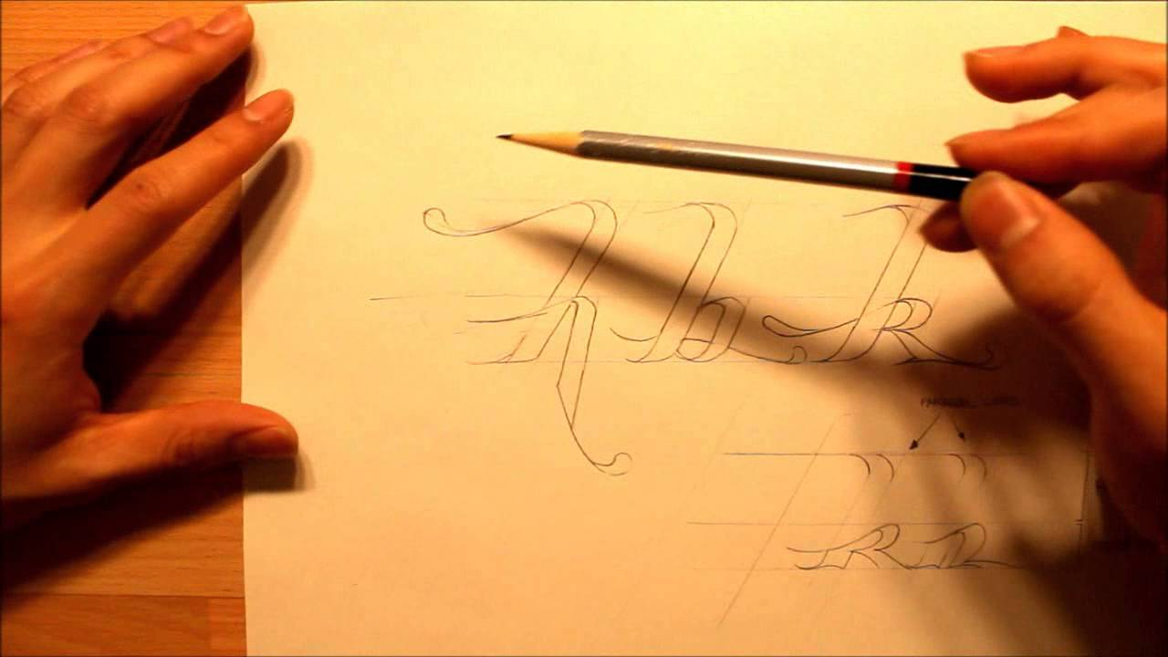 How To Draw Calligraphy Style Writing Graphics Graffiti