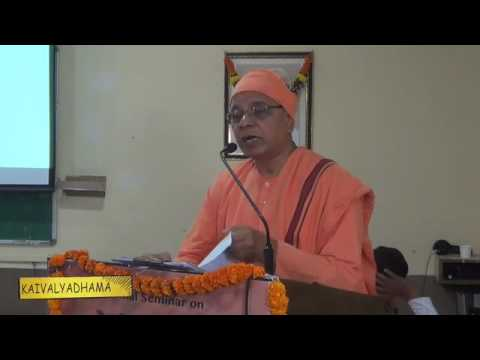 Plenary Session - Swami Srikantananda (Secretary, Ramakrishna Mission, Pune )