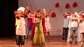 AAJ MEIN UPAR AASMAN NEECHE. DANCE BY MUSHTIFUND PRIMARY SCHOOL. 2013-14