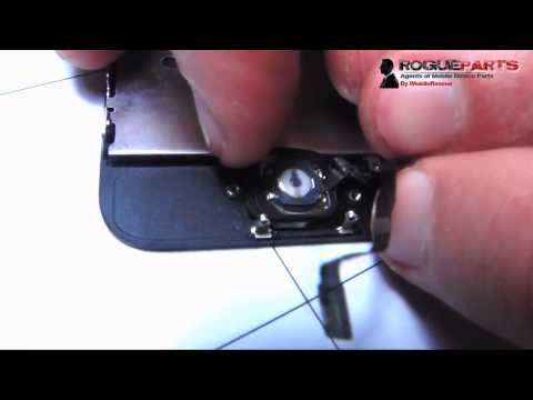 iPhone 5S Home Button + Fingerprint Scanner Replacement