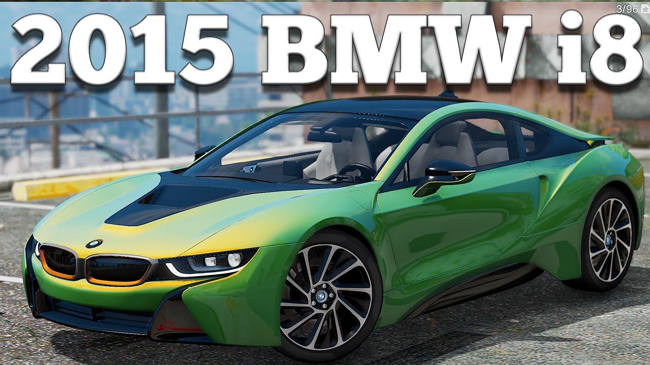 Gta V Pc Mods 2015 Bmw I8 Download Youtube