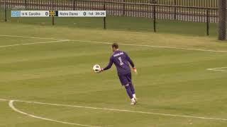 Men's Soccer - Notre Dame vs UNC 03-27-2021