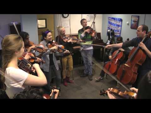 Happy - Pharrell Williams - Berklee Pop String Ensemble with Mike Block