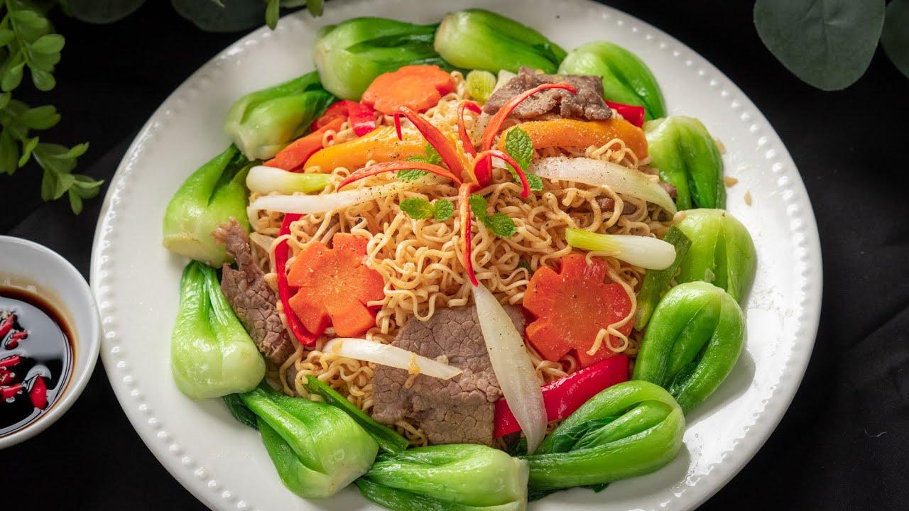 Bạn có Mì Gói không, pha sốt đặc biệt làm món Mì Xào ngon tuyệt này đi | Stir fry instant noodle