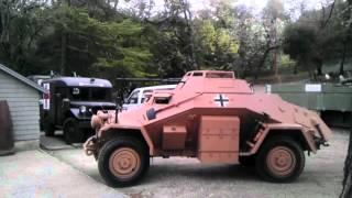 sdkfz 222 driving