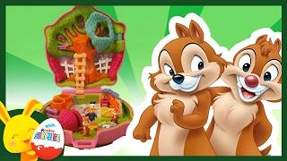 Donald Tic et Tac en forêt   Histoire de jouets Polly Pocket enfants   Touni Toys Titounis