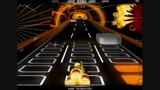 Audiosurf Cyber trance bonaza pt3 (The anthem 2003)