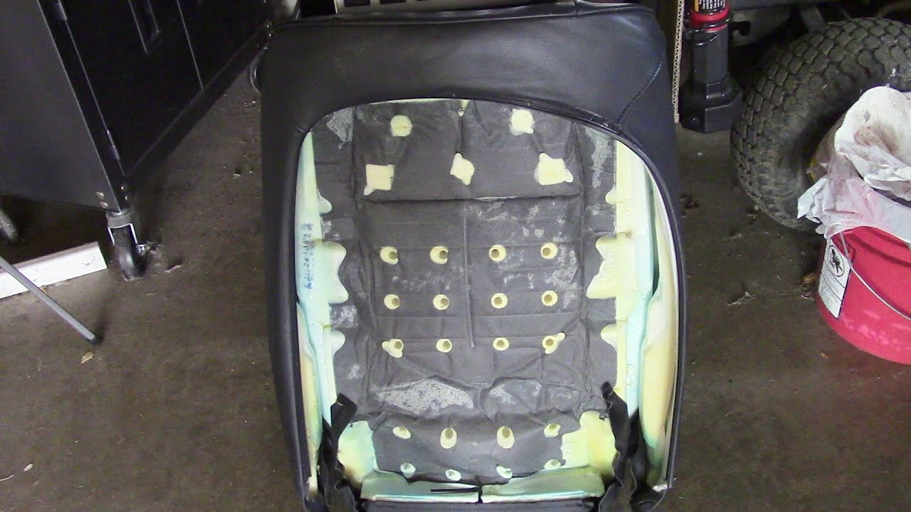 Bmw Seats Replacement : Bmw e xi seat cover replacement youtube