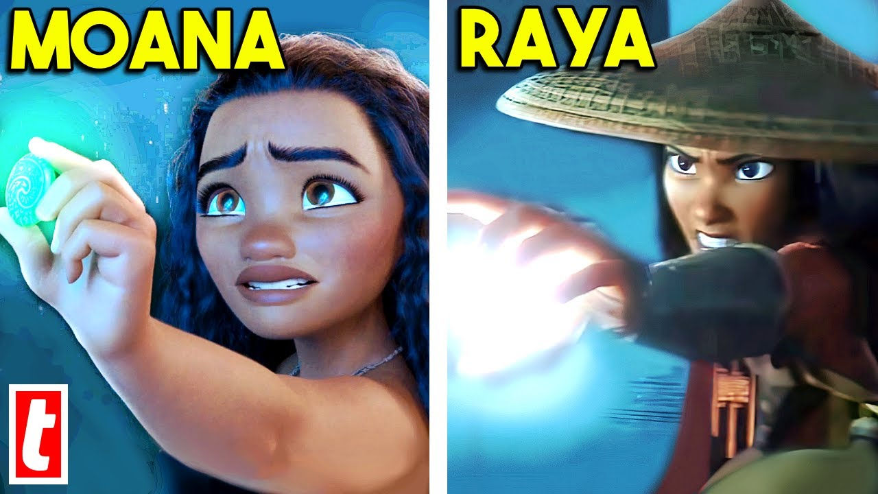 Download 12 Times Raya And The Last Dragon Copied Mulan And Moana