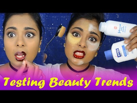 testing-popular-youtube-beauty-trends/hacks---nivea-primer,-baby-powder-baking,-peel-off-makeup?