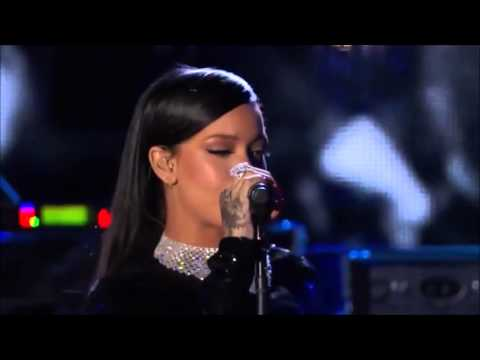 Rihanna - Diamonds Live at The Concert For...