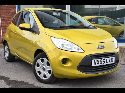 Used Ford Ka  Dr Start Stop Yellow