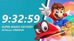 Super Mario Odyssey - All Unique Moons Speedrun in 9:32:59