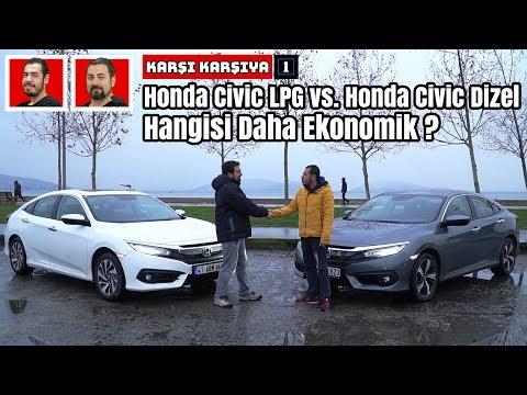 Honda Civic LPG vs. Honda Civic Dizel ! | Hangisi Daha Ekonomik? | Karşı Karşıya