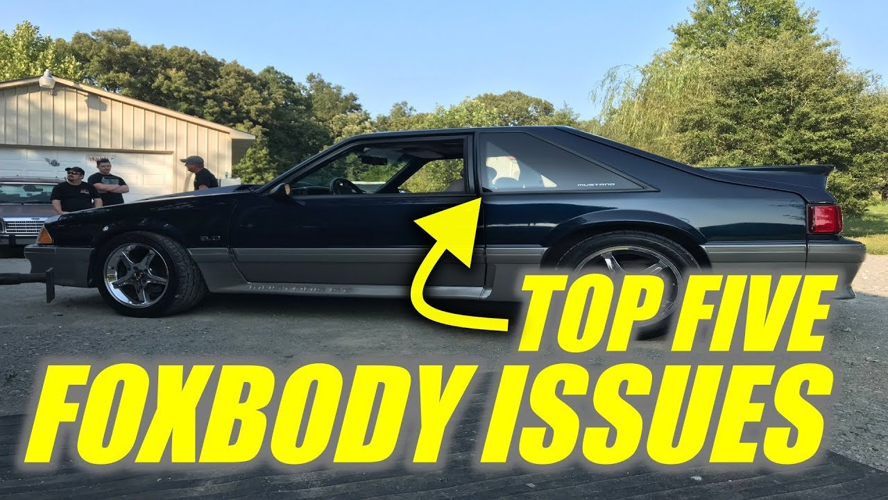 Fox Body Mustang Parts >> What Are The Worst Parts About A Foxbody Mustang Top Five