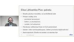 Elisa webinaari: Elisa Lähiverkko Plus – Yrityksen koko tietoverkko pilvestä