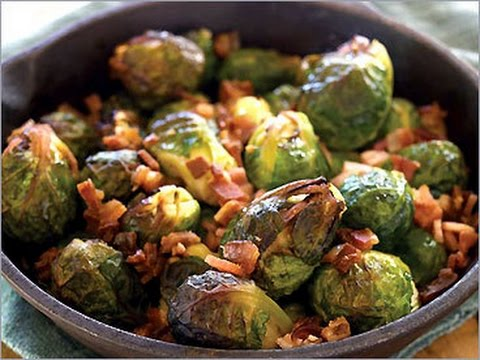Oven-roasted bacon brussel sprouts- Ketogenic Recipe - YouTube