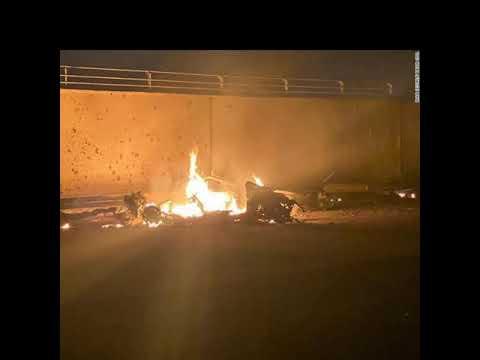 в Багдаде обстреляли посольство США из миномёта