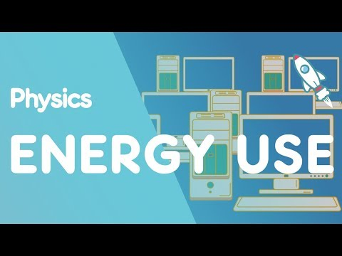 Energy Use In Electrical Appliances | Energy | Physics | FuseSchool