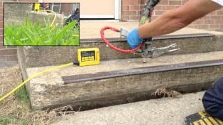 JACKCRETE Concrete Stoop Lifting