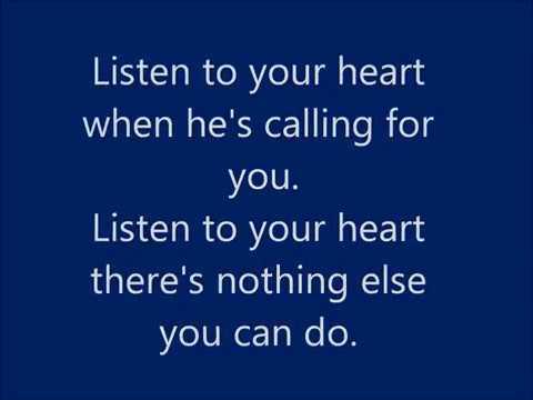 Roxette  Listen to Your Heart  Lyrics
