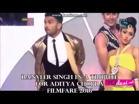 Raveer Singh ll Phir Milenge Chalte Chalte Filmfare2016