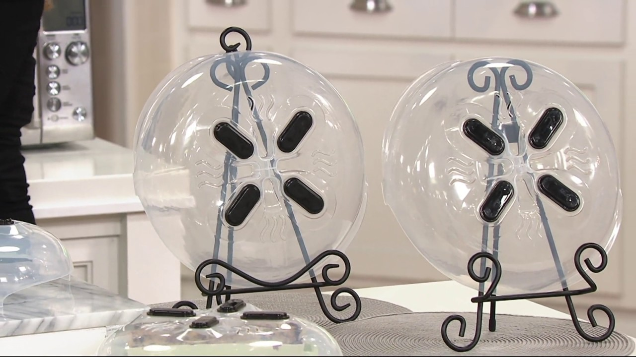 Set of 2 Hover Cover Microwave Splatter Guards by Lori Greiner on QVC & Set of 2 Hover Cover Microwave Splatter Guards by Lori Greiner on ...