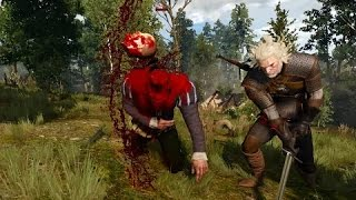 The Witcher 3 Wild Hunt добивания [GTX 750 Ti, Intel Q9550] combo