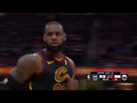 LeBron James Goes Off for 20 Points In The First Quarter!!