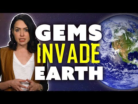 Out of this World Gems Invade & Shape Earth