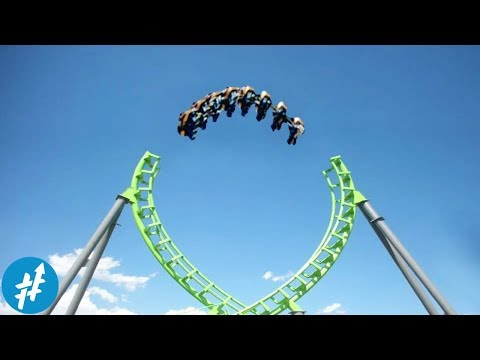 Jalur TERPUTUS? 9 Roller Coaster Super EKSTRIM Dan Menakutkan