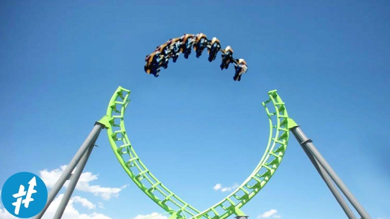 Download Jalur TERPUTUS? 9 Roller Coaster Super EKSTRIM Dan Menakutkan