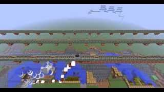 Minecraft rube goldberg machine