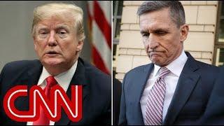 CNN debunks Trump's tweet about Flynn