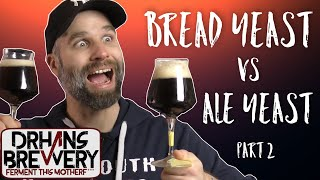 Beer Yeast vs Bread Yeast - part 2 After Aging