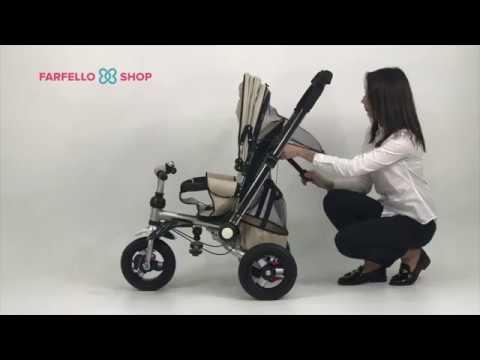 Детский трехколесный велосипед Farfello TSTX010